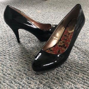 Madden Girl Black 2.5 inch Heels (Worn Once)